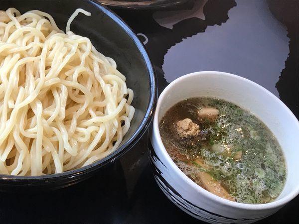 「つけ麺 白」@麺屋白虎 甲府店の写真