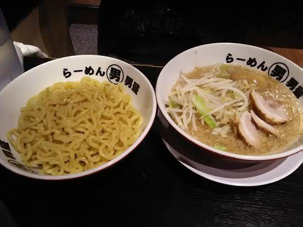 「つけ麺880円」@らーめん男盛 本店の写真