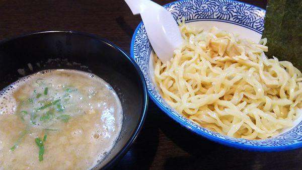 「濃厚鶏白湯つけ麺(醤油)¥780」@麺匠なべすけの写真
