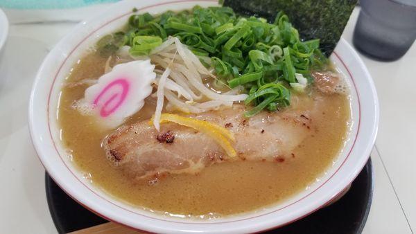 「コク重ね支那そば 九条ネギ増し」@麺肴ひづき あさのやの写真