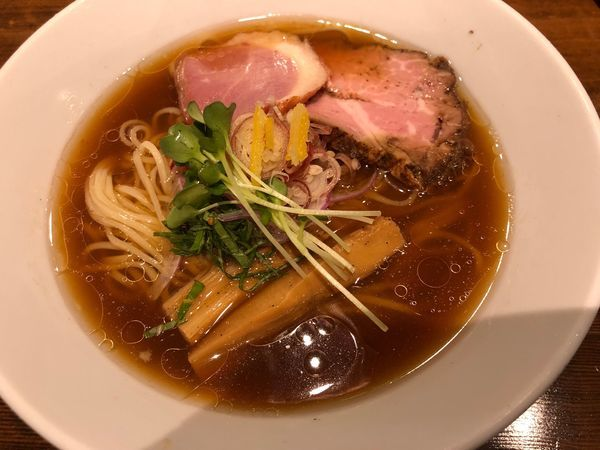 「【限定】冷やにぼ750円」@麺屋しとらすの写真