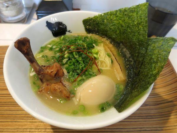 「鶏白 900円」@麺心 風見鶏の写真