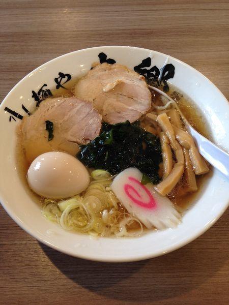 「醤油味玉ラーメン」@麺や 本郷の写真