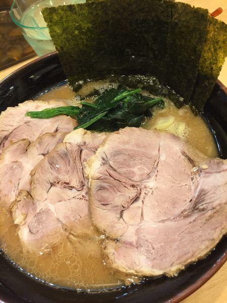 「チャーシュー麺大盛り」@横浜ラーメン 北村家の写真