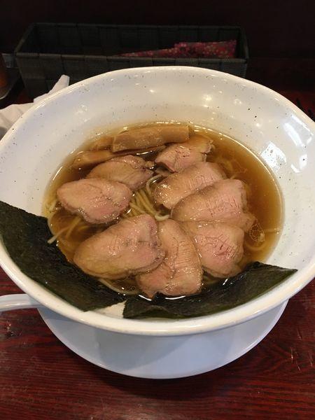 「限定 炭火焼 吊るし焼豚麺」@翔鶴 高崎店の写真