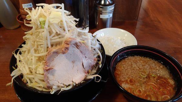 「辛つけ麺」@肉そば千の写真
