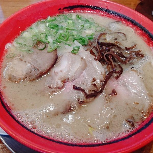 「豚肉マシそば  麺硬」@豚そば 成の写真