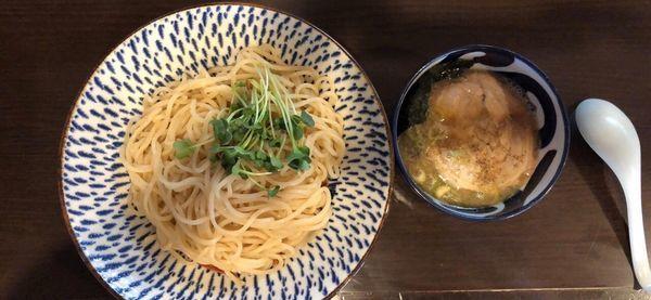 「二ボ二ボつけ麺」@ラーメン 喰拳の写真