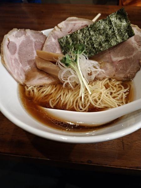 「チャーシューらーめん」@麺屋 むつ葉の写真