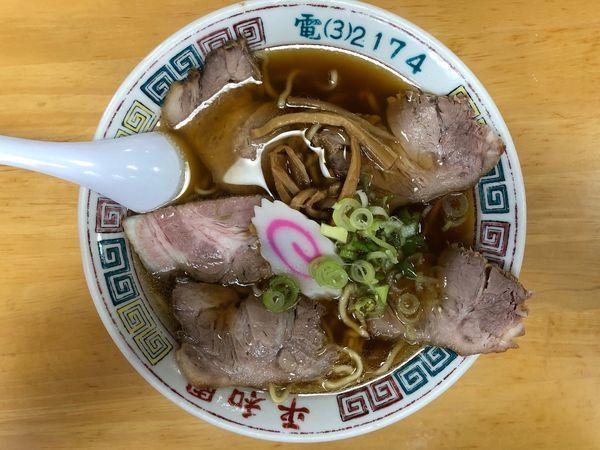「チャーシュー麺」@平和園の写真