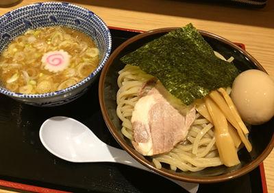 「味玉つけめん中(830円)」@舎鈴 有楽町新東京ビル店の写真