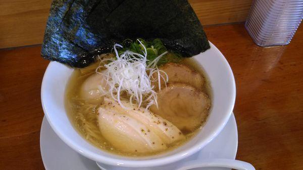 「特製塩ラーメン1000円」@らぁ麺屋 晴天の写真