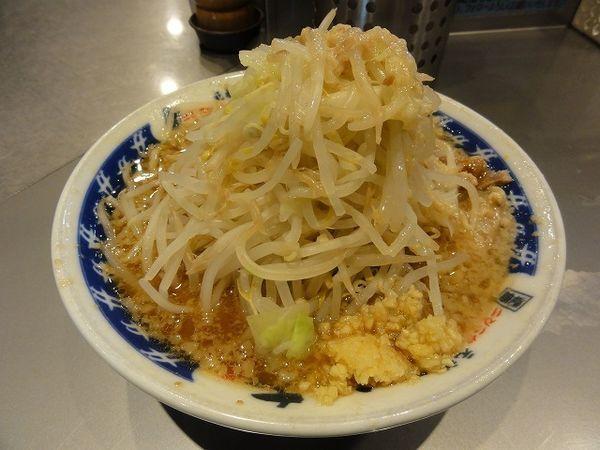 「ラーメン 野菜ニンニクアブラ」@らーめん大 蕨店の写真