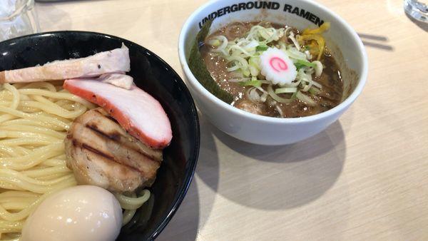 「濃厚特製つけ麺」@UNDERGROUND RAMEN 頑者 コクーンシティさいたま新都心店の写真