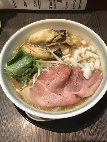 「牡蠣味噌ラーメン」@味噌専門店 〜味噌呉田 life〜の写真