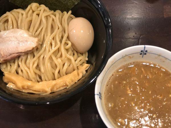 「つけめん+味玉」@麺屋 亀城の写真