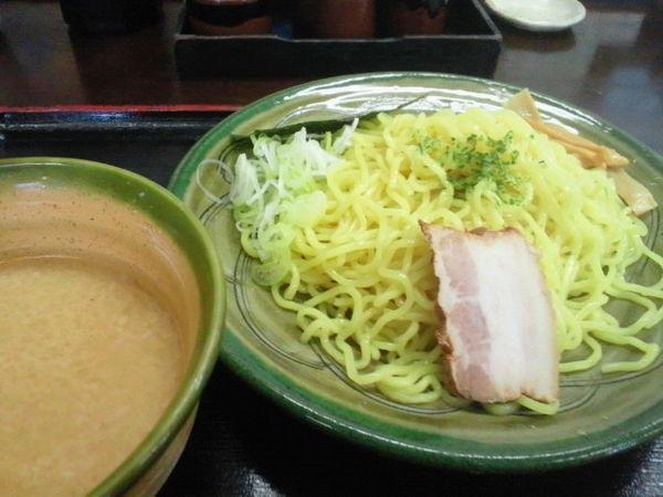 「味噌つけらーめん 700円」@味噌三昧 麺食道楽の写真