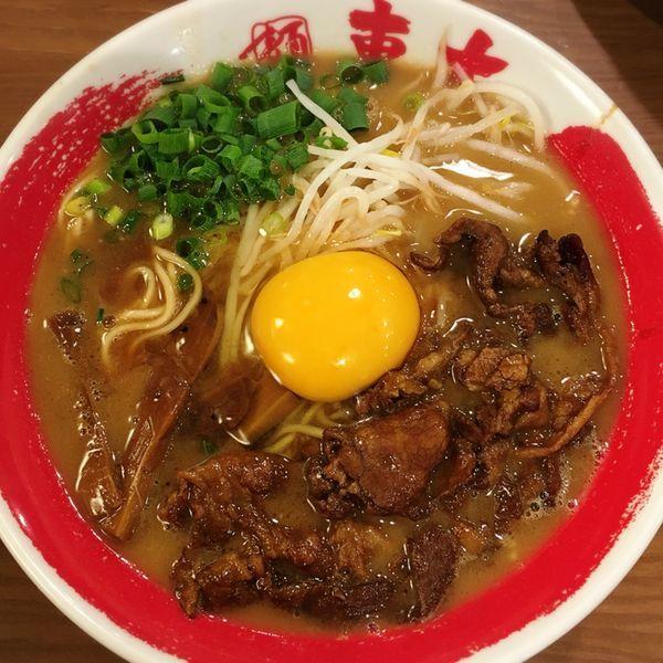 「徳島ラーメン 肉増し」@ラーメン東大 京都店の写真