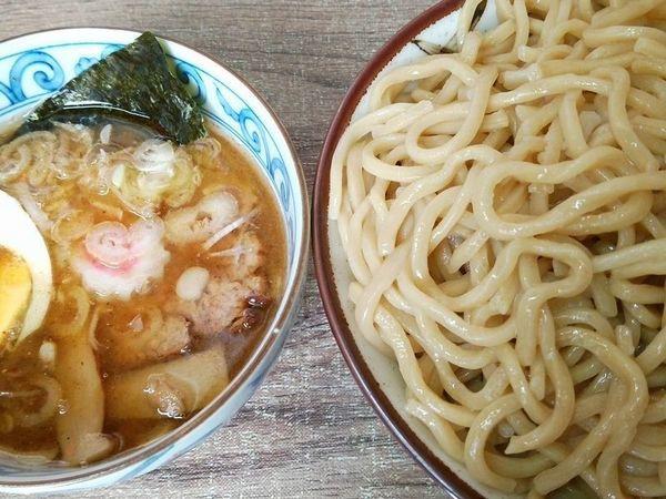 「つけ麺(大盛)」@裏サブロンの写真