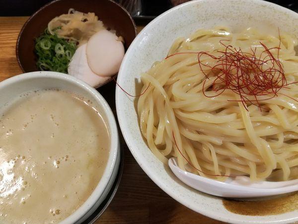 「鶏白湯つけ麺(特盛)」@麺匠ようすけ 鶏煮亭の写真