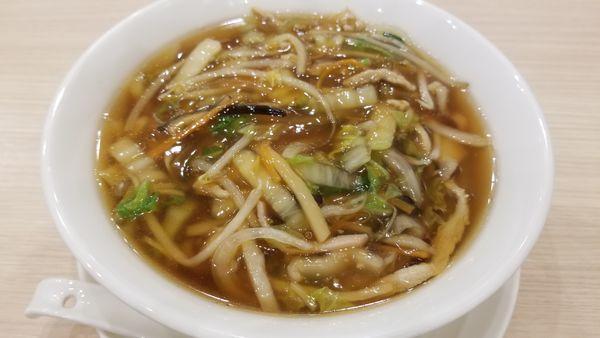 「あんかけ麺」@中華麺飯・飲茶 四川乃華 ichi イオンモール松本店の写真