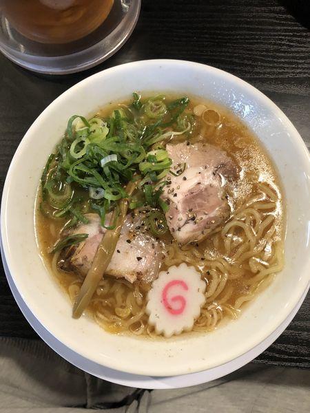 「中華そば 中太麺」@天天有 ひるまやの写真