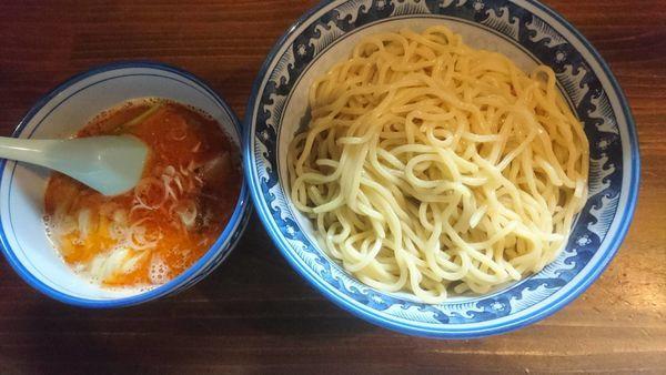 「海老味噌つけ麺(特盛)」@麺や 樽座 子安店の写真