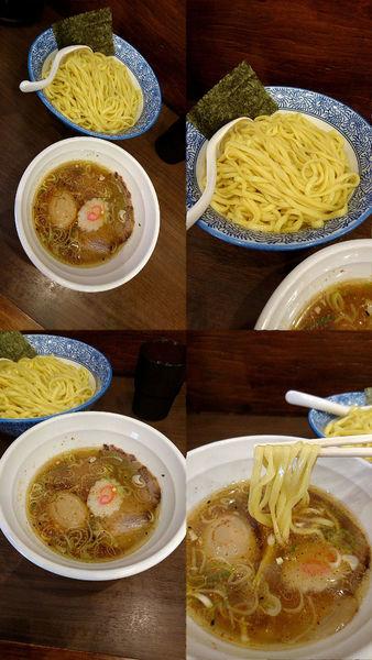 「『味玉塩つけ麺+大盛(¥820+50)』」@中華そば ふうみどうの写真