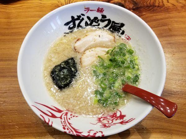「元味らーめん[背脂:こってり、麺:細麺]+替玉(890円)」@ラー麺ずんどう屋 新宿歌舞伎町店の写真