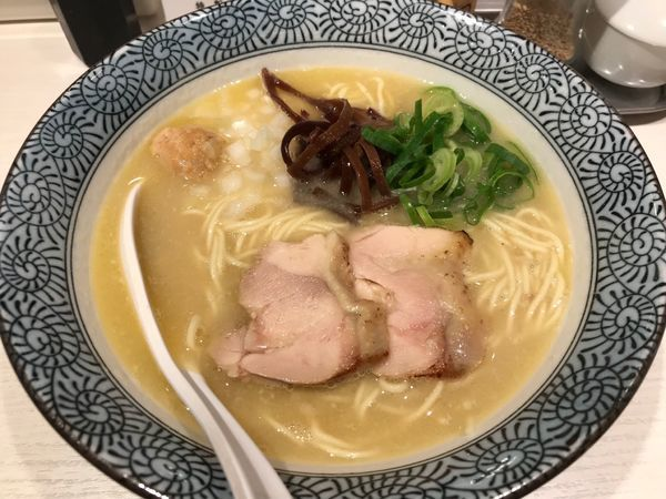 「濃厚鶏白湯そば(白) 780円」@濃厚京鶏白湯 めんや美鶴の写真
