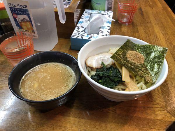 「魚介豚骨つけ麺」@ラーメン大丸の写真