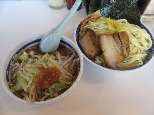 「限定 男つけ麺(850円)+大盛100円」@麺屋ゆうの写真