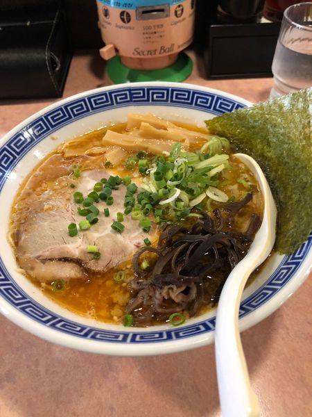 「辛味噌豚骨らーめん」@特級豚骨 中華そば湊生の写真