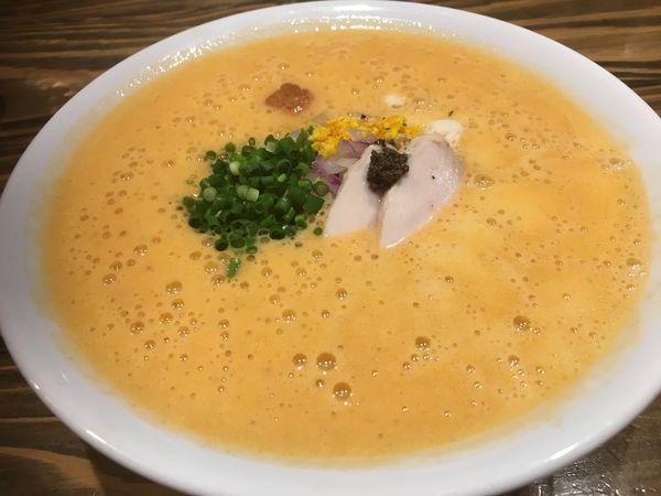 「オマール海老湯」@麺屋はやぶさの写真