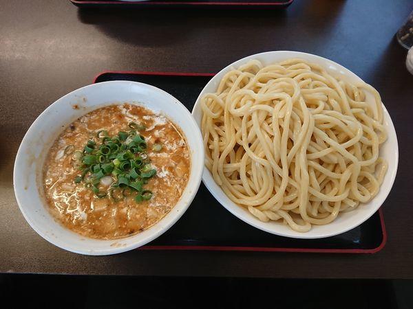 「味噌つけめん 中盛 750円」@麺家 しんの写真