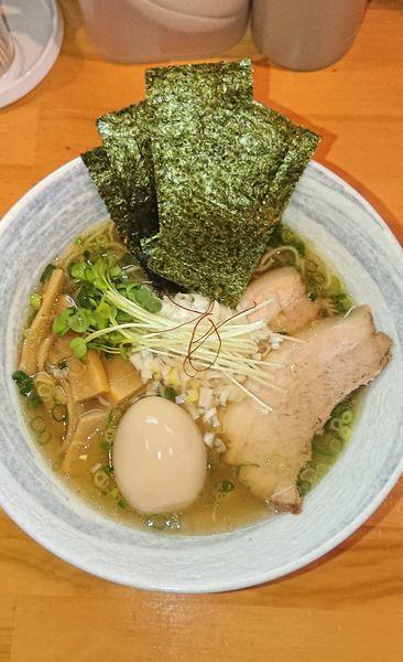 「特製塩ラーメン」@麺屋 くおんの写真