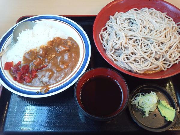 「ミニカレーセット 530円」@名代 富士そば 西武新宿店の写真