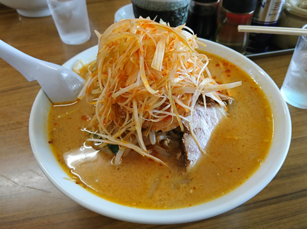 「ネギ味噌チャーシュー麺」@萬馬軒 諏訪店の写真