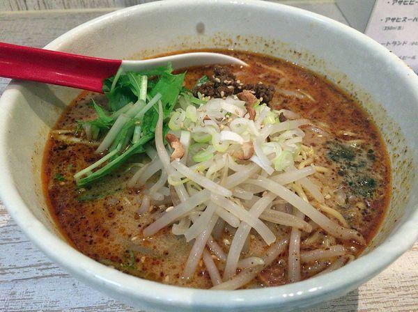 「担々麺(850円)」@麺屋 誉の写真