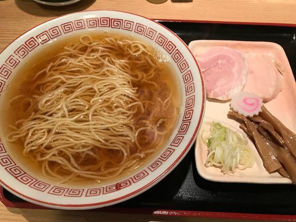 「煮干し中華そば  650円」@おやつラー専科 チキチキGOGOの写真