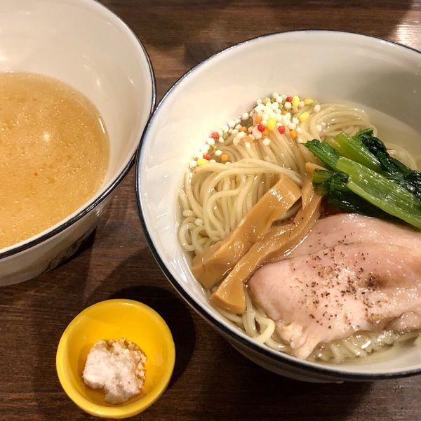 「【限定】鯛塩つけ麺」@らぁ麺BAR 錦 iwamotoの写真
