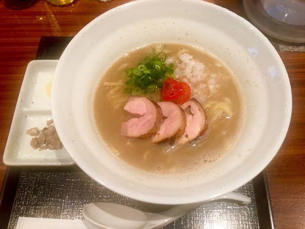 「鶏煮干しらぁめん(醤油)」@麺や いま村の写真