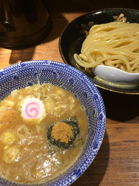 「つけめん830円」@六厘舎 大崎店の写真