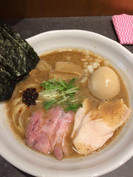 「特製豚骨魚介RAMEN1000円」@RAMEN 火影 produced by 麺処ほん田の写真