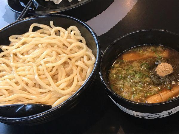 「つけ麺 黒」@麺屋白虎 甲府店の写真