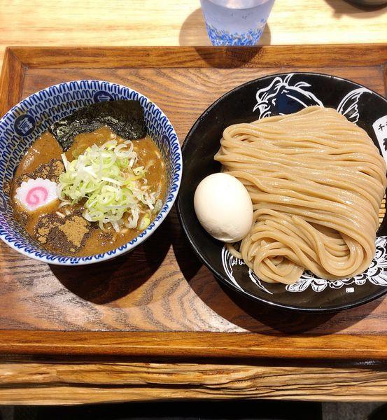「半熟味玉つけめん(小)」@中華蕎麦 とみ田の写真