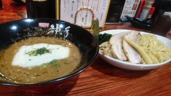 「山芋とろろつけ麺(大盛)」@麺昇 神の手の写真