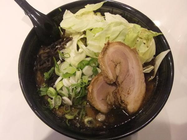 「キャベツラーメン」@熊本ラーメン 麺王の写真