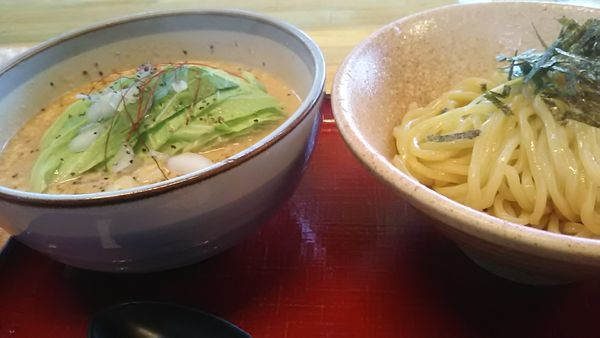 「ツナマヨつけ麺 並」@優勝軒 鶴ヶ島店の写真