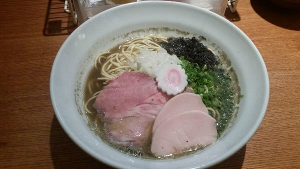 「特製煮干し800円」@麺屋 烈の写真